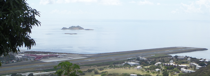 St. Thomas Airport Overlook