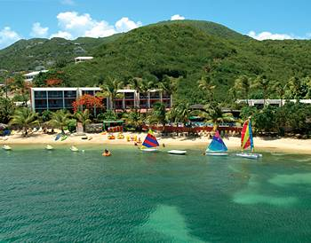 Bolongo Bay all inclusive resort - St. Thomas