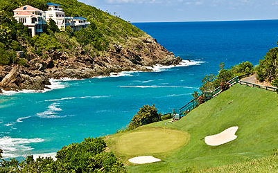 Mahogany Run golf course St. Thomas