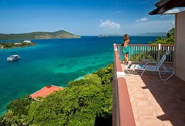 View from Point Pleasant Resort, St. Thomas, US Virgin Islands