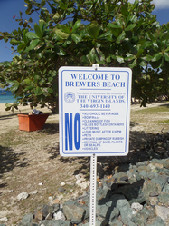 Brewers Beach Sign