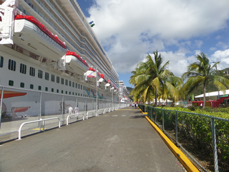 St. Thomas Cruise ship Dock